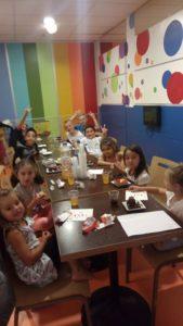 Test d'une activité pour enfants avec le centre commercial Cité Europe